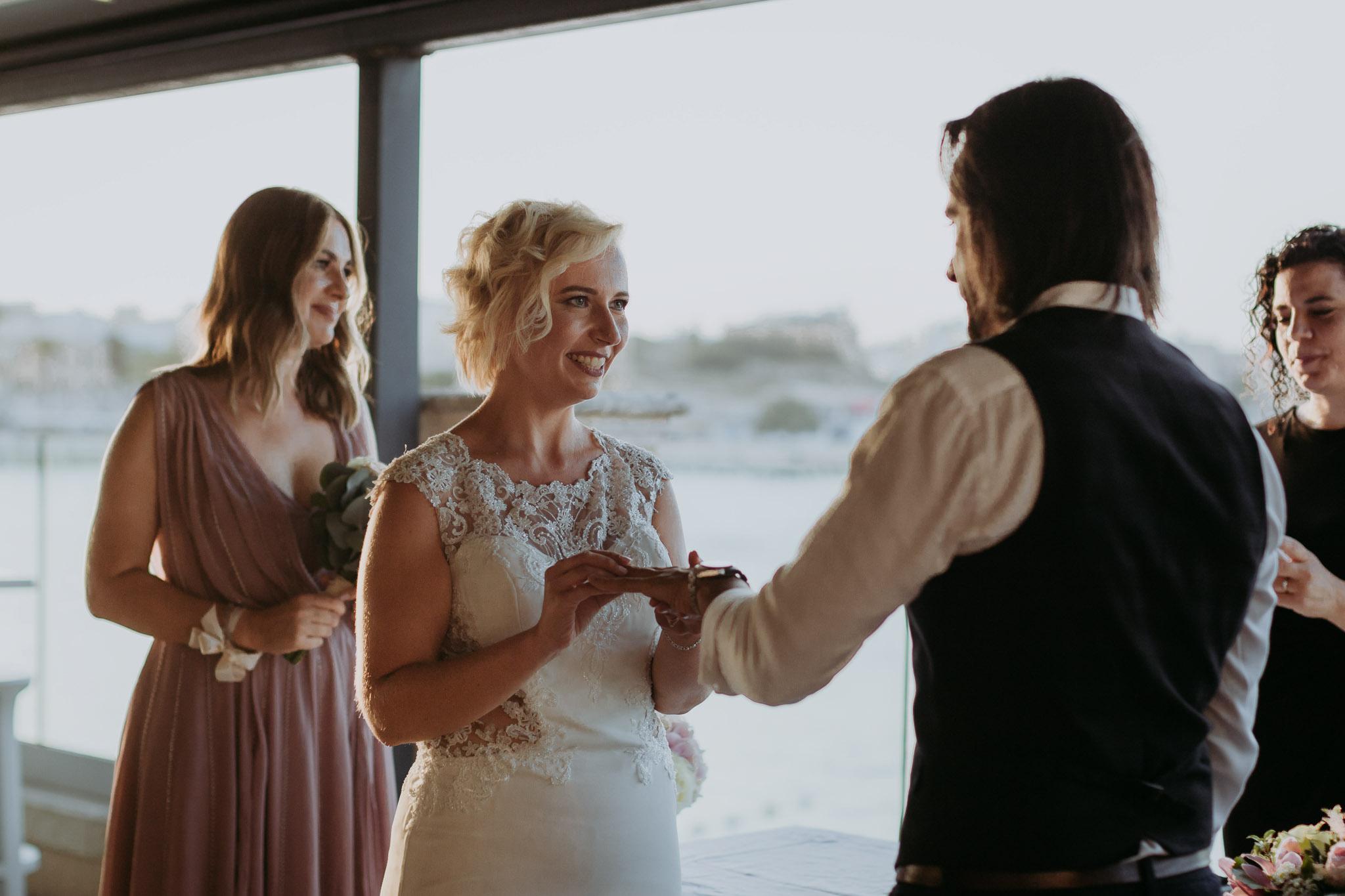 Ślub Ani i Leo na Malcie
